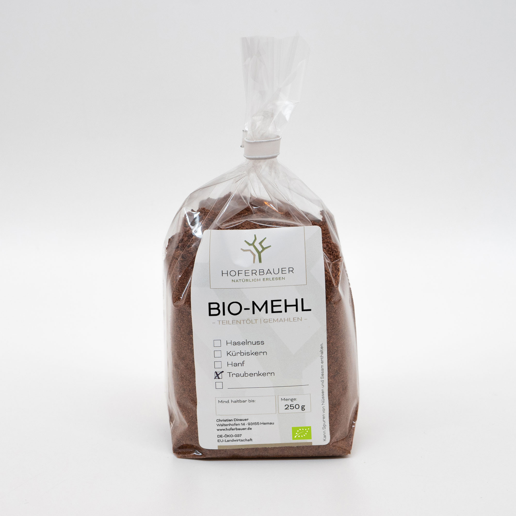 Bio-Traubenkern-Mehl