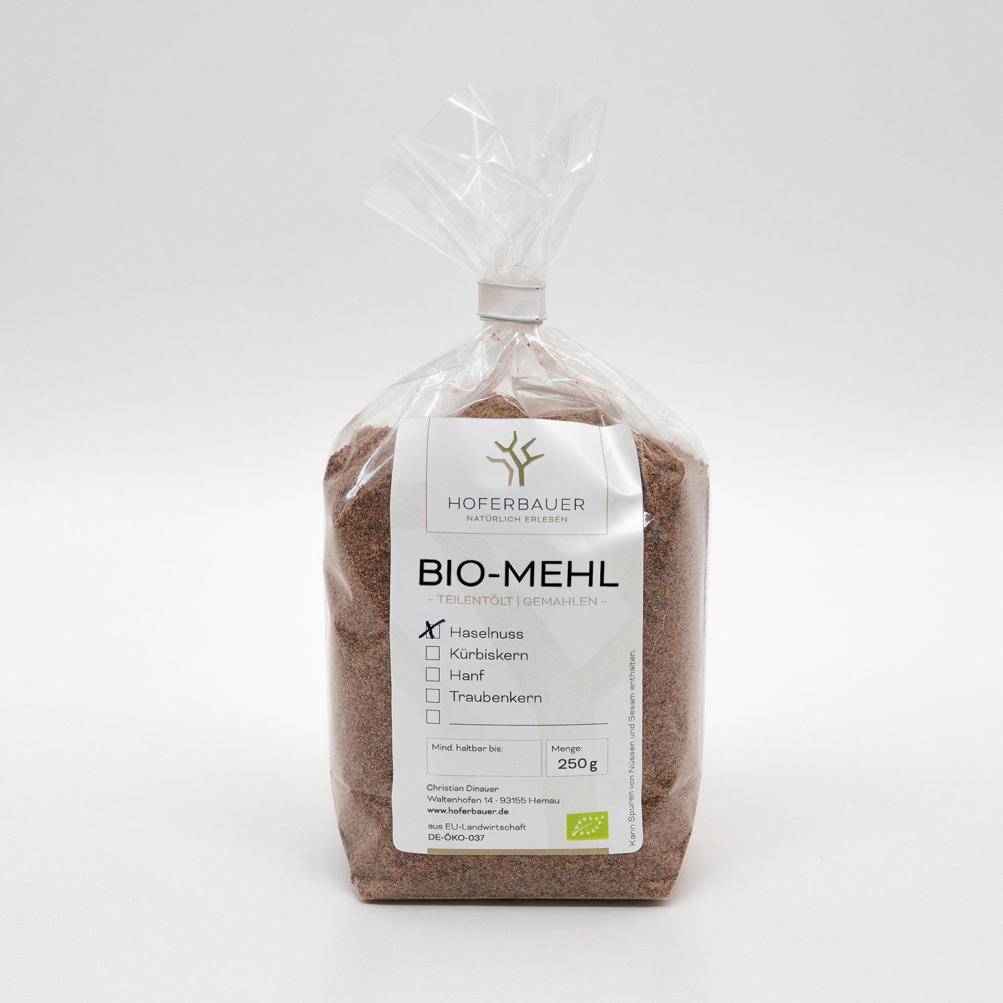 Bio-Haselnuss-Mehl