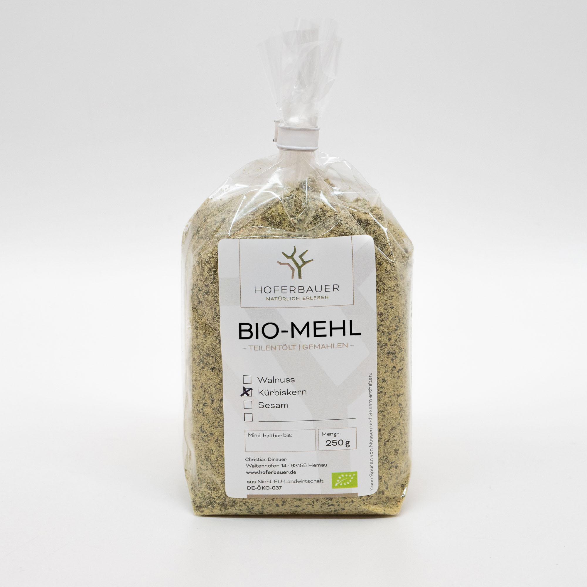 Bio-Kürbiskern-Mehl