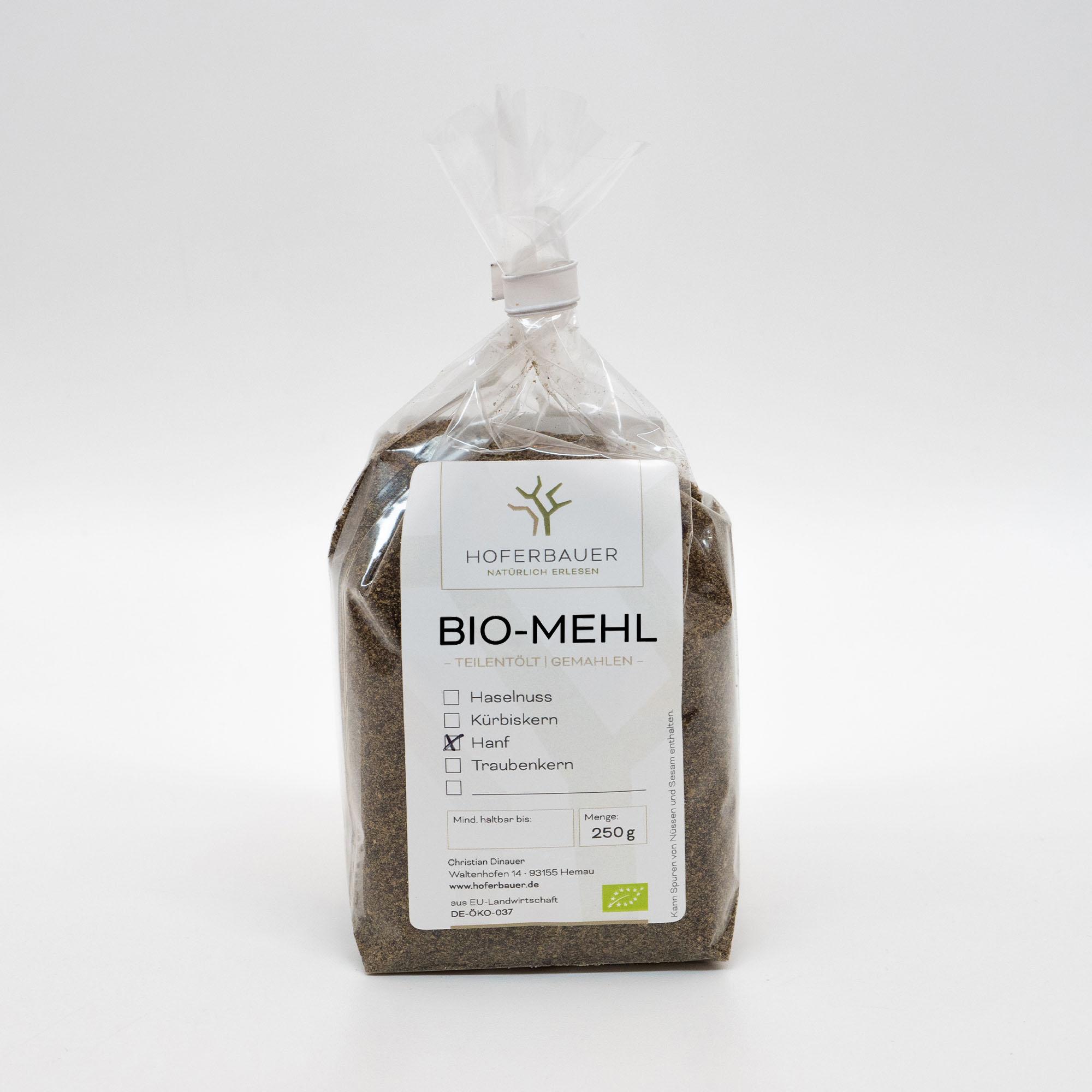 Bio-Hanf-Mehl